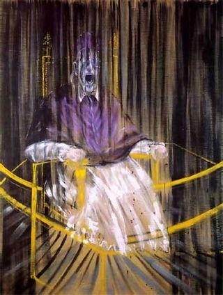 El papa Inocencio X de Velázquez de Francis Bacon